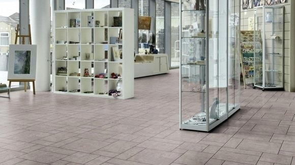 Amtico Signature Vinyl Designboden Exposed Concrete Stone Standard