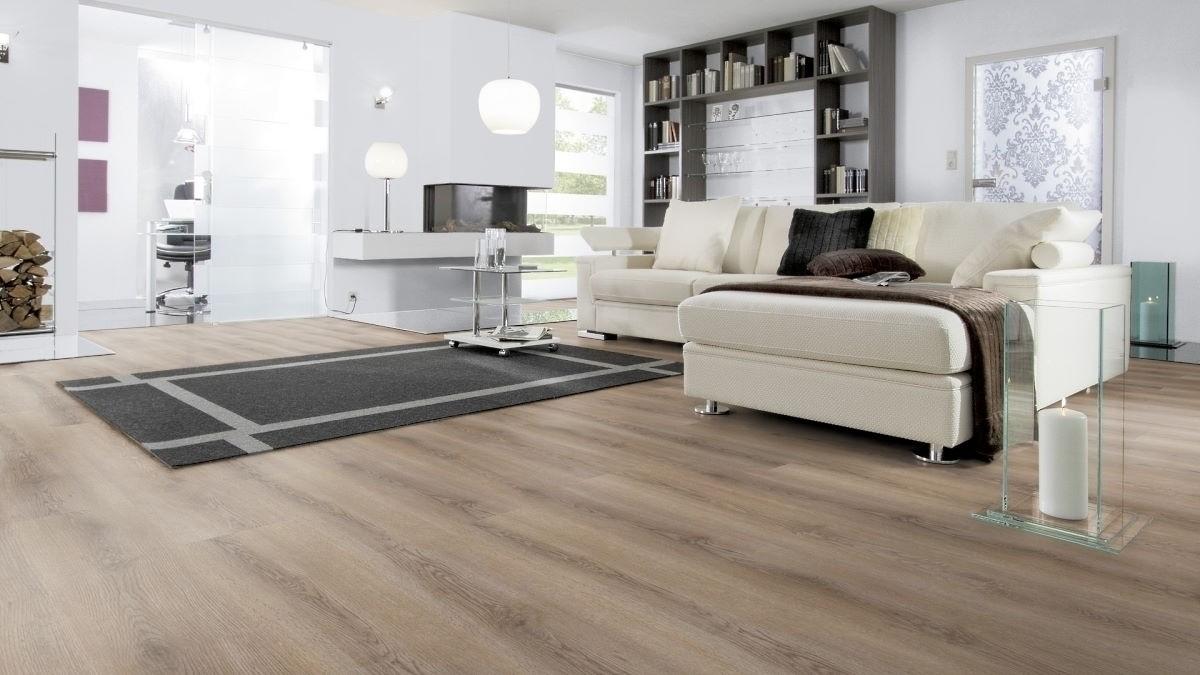 Wineo 600 Rigid Wood Klick-Vinyl Smooth Place 5 mm Landhausdiele Rigid Designboden