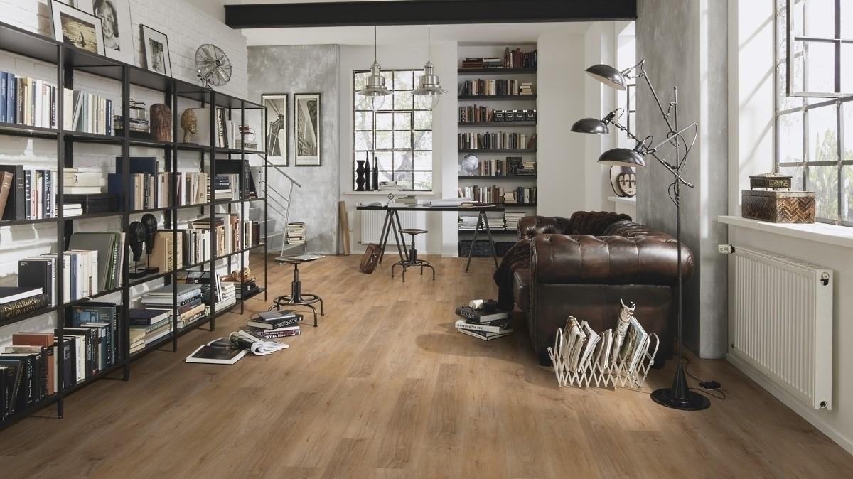 Wineo 600 Rigid Wood Klick-Vinyl Warm Place 5 mm Landhausdiele Rigid Designboden