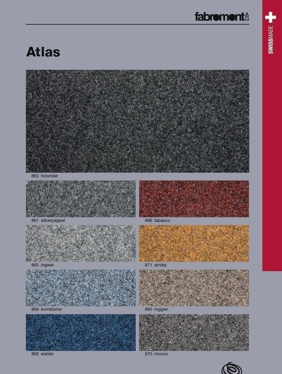 Fabromont Atlas Kornblume Kugelgarn Teppichboden