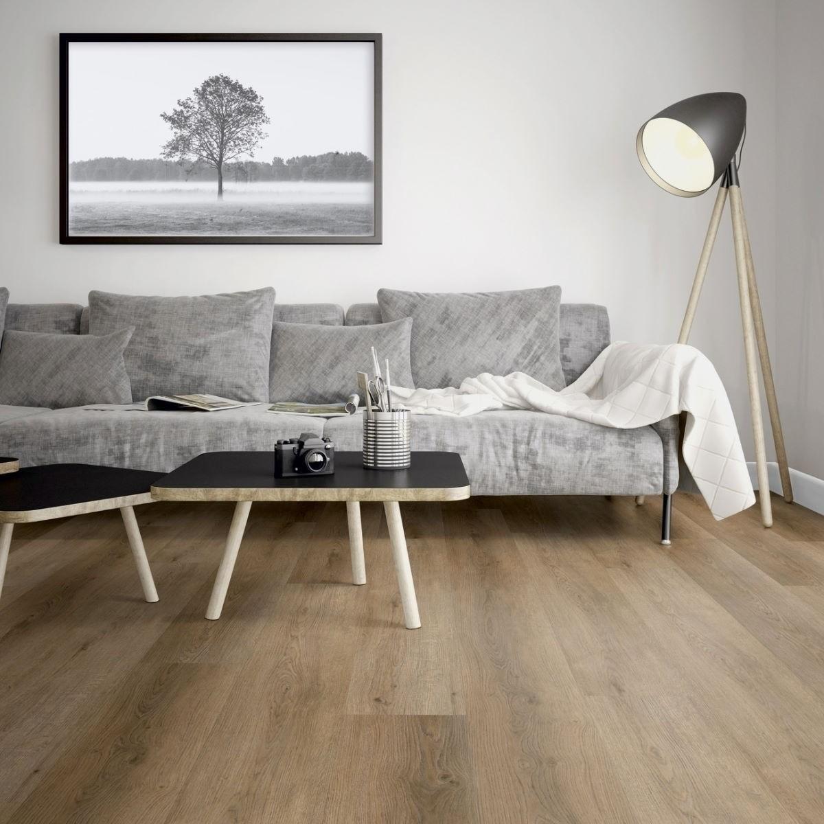 ter Hürne FRIENDS Klick-Vinyl Eiche Marie 5 mm XL Landhausdiele Rigid Designboden mit Klicksystem