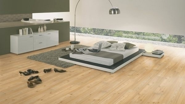 Wineo 1000 Purline Bioboden Click Carmel Pine Wood Planken mit Klicksystem
