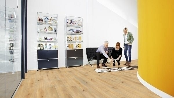 Wineo 1000 Purline Bioboden Click Island Oak Honey Wood Planken mit Klicksystem