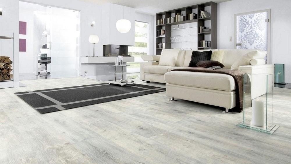 Wineo Purline Bioboden Arctic Oak Wood Planken zur Verklebung oder Verlegung mit SilentPremium
