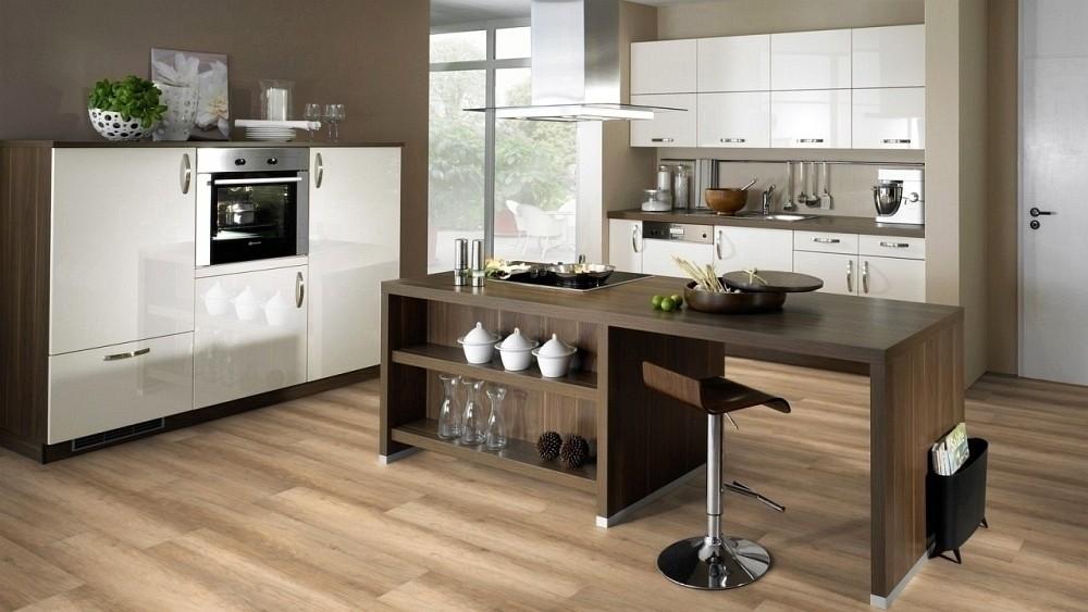 Wineo Purline Bioboden Calistoga Cream Wood Planken zur Verklebung oder Verlegung mit SilentPremium