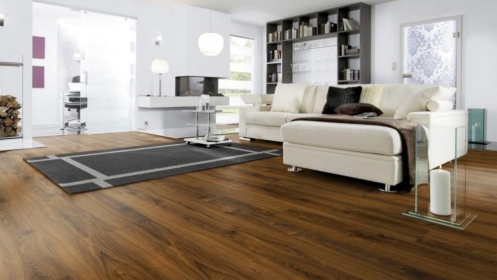Wineo Purline Bioboden Dacota Oak Wood Planken zur Verklebung oder Verlegung mit SilentPremium