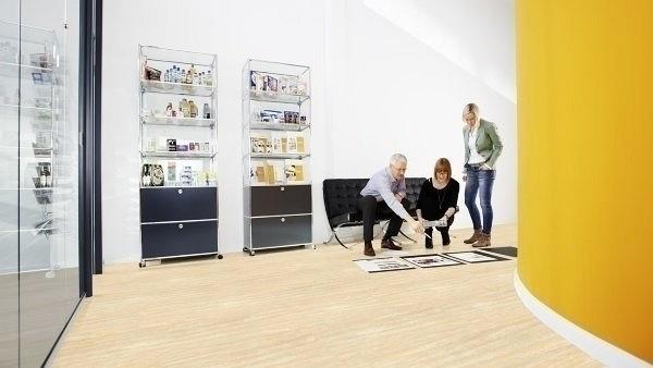 Wineo 1000 Purline PUR Bioboden Milan Opera Stone Fliesen zur Verklebung