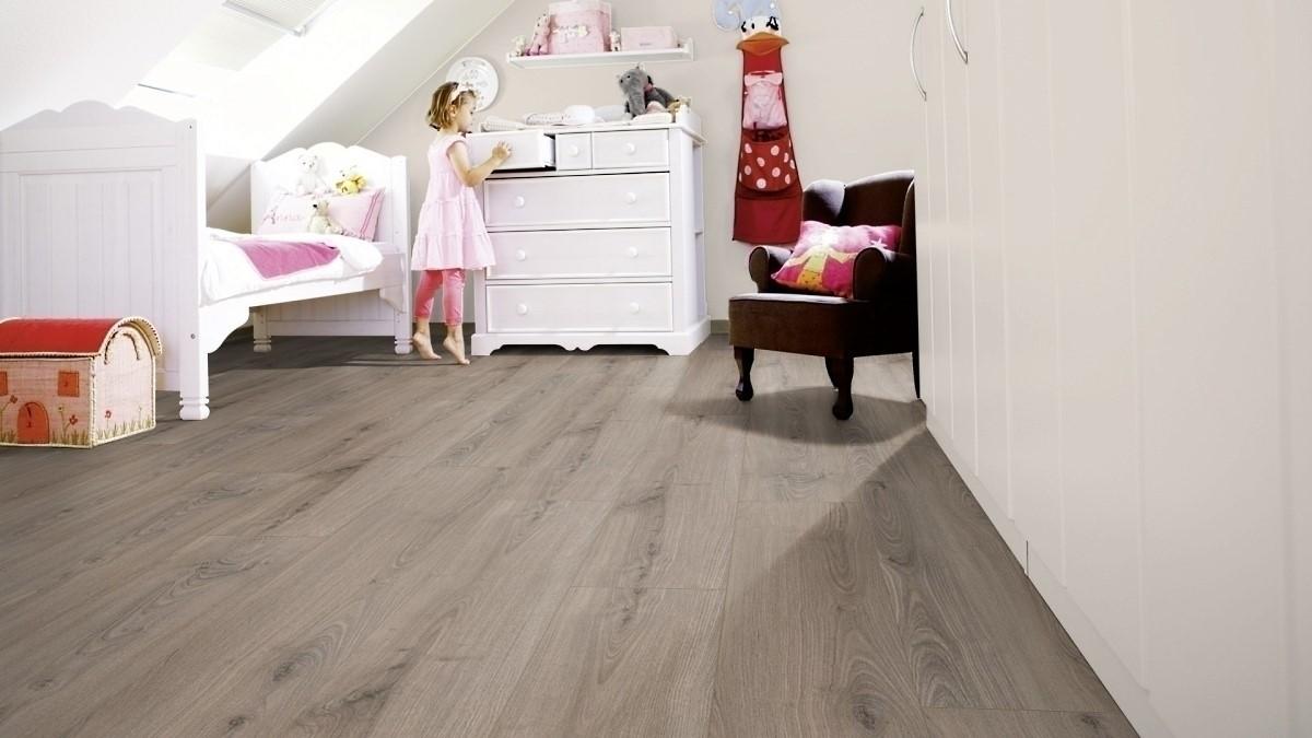 Wineo 1200 wood XL Click Purline Bioboden Smile for Emma Rigid Designboden mit Klicksystem mit Microfase