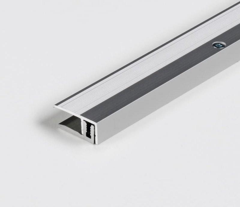Parador Abschlussprofil Silber für Parkett-Bodenbelag