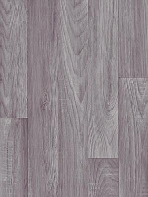 Profi Messe-Boden Holzdekor Wood Grip CV-Belag Eiche grau PVC-Boden