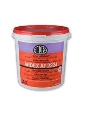 Ardex Kleber AF 2224 Universalkleber für elastische + textile Beläge Für PVC- und CV-Beläge auf saugfähigen Untergründen Preis pro kg, PE-Sack 14 kg professionell fixieren von Bauchemie-Hersteller Ardex HstNr: AF2224
