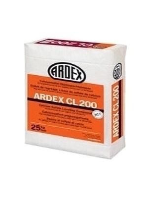 Ardex Spachtelmasse CL200 Calciumsulfat-Objektspachtelmasse zum Ausgleich von 1 - 30 mm in einem Arbeitsgang Preis pro kg, PE-Sack 25 kg professionelle Ausgleichs Bodenspachtel-Masse von Bauchemie-Hersteller Ardex HstNr: CL200