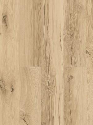 Cortex Designatura Eiche Vintage Klick-Designboden auf HDF-Träger, HCPRO-Öberfläche mit zwei Kork-Dämmschichten, mit Blauer Engel zertifiziert, Planke 1830 x 185 mm, 11,5 mm Stärke, 2,031 m² pro Paket, Nutzschicht 0,55 mm günstig Kork-Bodenbelag kaufen von Bodenbelag-Hersteller Cortex HstNr: BAH2001 *** Mindestbestellmenge 15 m² ***