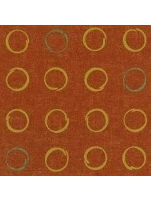 Forbo Flotex Teppichboden Pumpkin Orange Braun Vision Shape Spin Objekt
