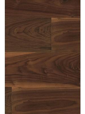 Gunreben G-Park 3-Schicht Nussbaum amerikanisch Project geölt 15 mm Landhausdiele Click Farbton dunkel 1900 x 190 x 15 mm 2,89 m² pro Paket, Mindestbestellmenge: 10 m²