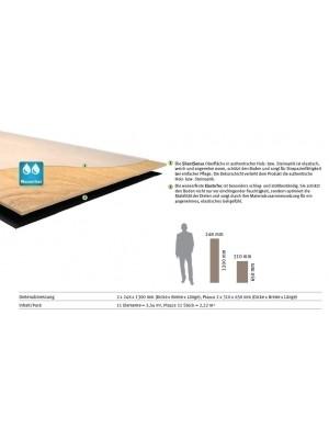 HARO DISANO Project Rigid-Boden LA 4VM Franz. Räuchereiche str. Elastotec Designboden 2 x 1300 x 248 mm, Profi-Bodenbelag besonders für Renovierung und Fußbodenheizing, sofort günstig direkt kaufen, 1. Wahl Qualität *** Lieferung ab 20 m² bzw. 350 EUR Warenwert ***, HstNr.: 537303