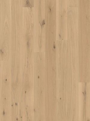 Haro Serie 3500 Landhausdiele Parkett EICHE lichtweiß Universal strukturiert 2V  2,5 mm Parkettboden mit natuaLin plus 2200 x 180 x 12 mm, 2,38m² pro Pack/6Stück günstig online kaufen, HstNr.: 534603