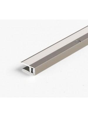 Parador Abschlussprofil Aluminium-Profil Edelstahl für Parkettboden, Länge 1000 mm, günstig Profile online kaufen von Bodenbelag-Hersteller Parador HstNr: 1739876 ***  Lieferbar nur in Verbindung mit Parador Bodenbelag-Bestellung ***