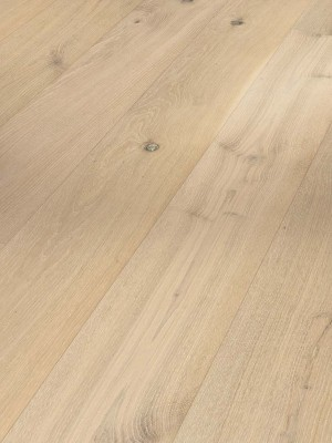 Parador Classic 3025 Holzparkett Eiche Parkett Landhausdiele, gebürstet, Naturöl weiss plus, Minifase 2200 x 185 x 13 mm, 3,66 m² pro Paket, Nutzschicht 2,5 mm  *** Lieferung ab 15 m² bzw. 350 EUR Warenwert***