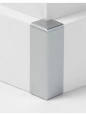 Parador Sockelleisten Ecken Alu-Optik, Außenecke