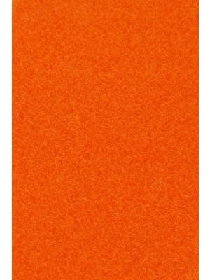 Profi Flair Teppichboden für Messe und Events orange mit Latex-Rücken