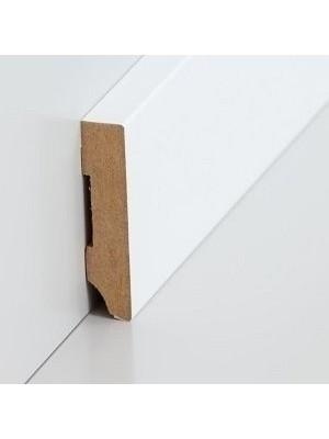 Südbrock Sockelleiste weiß Fußleiste, MDF-Kern mit Folie ummantelt 10 x 40 mm