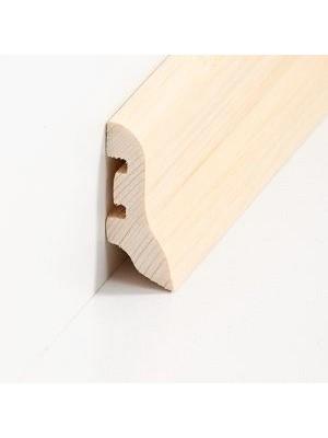 Südbrock Sockelleiste Holzkern Bambus hell lackiert Holzkern mit Echtholz furniert 20 x 40 mm