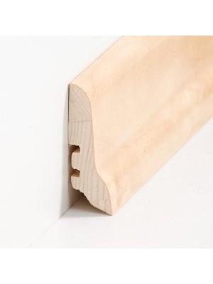 Südbrock Sockelleiste Holzkern Birke lackiert Holzkern mit Echtholz furniert 20 x 60 mm