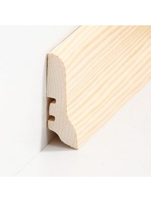 Südbrock Sockelleiste mit Echtholz furniertem Holzkern, Kiefer lackiert 20 x 60 mm, Länge 2500 mm, günstig Leisten Sockel Profile online kaufen von Hersteller Südbrock HstNr: sbs22603