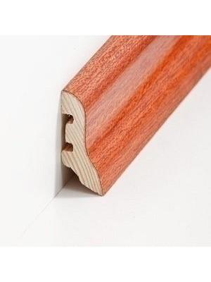 Südbrock Sockelleiste Holzkern Merbau lackiert Holzkern mit Echtholz furniert 20 x 40 mm