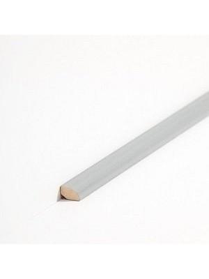 Südbrock Sockelleiste Viertelstab Dunkelgrau aus Massivholz 12 x 12 mm