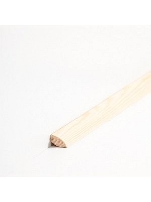 Südbrock Sockelleiste Viertelstab Massivholz Viertelstab Leiste Kiefer lackiert 14 x 14 mm, Länge 2 m, günstig Leisten Sockel Profile online kaufen von Hersteller Südbrock HstNr: sbs14143