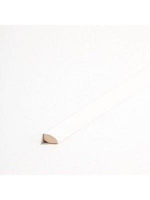 Südbrock Sockelleiste Viertelstab Massivholz Viertelstab Leiste, Abachi Weiß 12 x 12 mm, Länge 2 m, günstig Leisten Sockel Profile online kaufen von Hersteller Südbrock HstNr: sbs1219