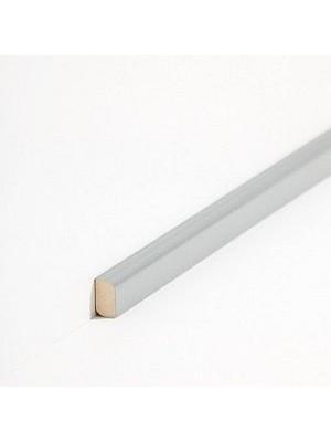 Südbrock Sockelleiste Vorsatz Massivholz Vorsatzleisten, Abachi Dunkelgrau 8 x 22 mm, Länge 2 m, günstig Leisten Sockel Profile online kaufen von Hersteller Südbrock HstNr: sbs82243