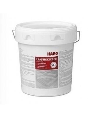 Haro Kleber elastischer Parkett-Kleber 5,5 kg Eimer, Verbrauch ca. 800-1000 g pro m²,HstNr: 407273 *** lieferbar nur zusammen mit Bodenbelag-Bestellung ***