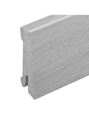Cortex Sockelleisten passend zu Cortex Vinatura Dekoren, lieferbar in Verbindung mit Cortex Bodenbelag, Maße: 58 x 18 mm, Länge 2400 mm, Liefermenge: 4,8 m, HstNr: CortexSL01