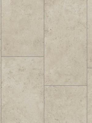 Wineo 400 Stone Click Vinyl-Designboden mit Klick-System Patience Concrete Pure Fliese 600 x 316 mm, 4,5 mm Stärke, reale Fuge, 2,28 m² pro Paket, Nutzschicht 0,3 mm Preis günstig Design-Belag online kaufen von Design-Belag Hersteller Wineo HstNr: DLC00139