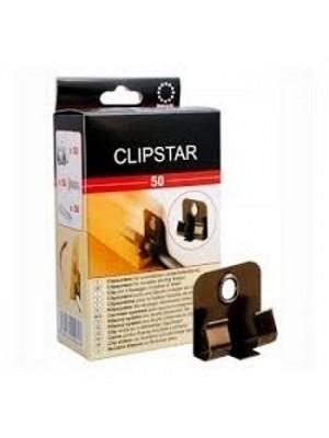 Weitzer Clipstar Befestigungsclips für Trockenbau, Verbrauch: 1 Stück pro 25 - 50 cm. 50 Clips pro Box HstNr: 40363