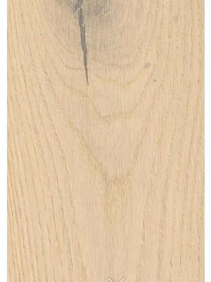 Haro Serie 4000 LHD Holzparkett Landhausdiele Fertigparkett, naturaDur mattes Oberflächenfinish Eiche sandweiß Sauvage strukturiert 2V Planke 180 x 2200 mm, 13,5 mm Stärke, 3,17 m² pro Paket günstig Parkett online kaufen von Parkett-Hersteller Haro HstNr: 535444