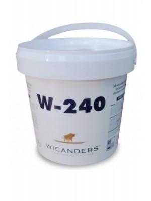 Wicanders Kleber Kontaktkleber Latex (W-240) 5 kg lieferbar nur in Verbindung mit Wicanders Bodenebelag 5 kg Eimer, Verbrauch ca. 250 g pro m² professionell fixieren von Bodenbelag-Hersteller Wicanders HstNr: CW02010