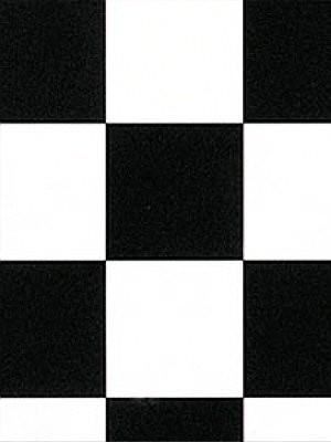 Profi Messeboden Event CV-Belag PVC-Boden schwarz weiss kariert karo Rollenbreite 2 m, Mindestbestellmenge 20 m² günstig PVC-Boden online kaufen HstNr: me097