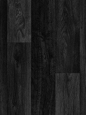 Profi Messeboden Holzdekor Wood Grip CV-Belag PVC-Boden Eiche schwarz Rollenbreite 2 m, Rolle 25 lfdm. Mindestbestellmenge 20 m², Mindestabmahme = 1 Rolle, günstig PVC-Boden online kaufen HstNr: mh899