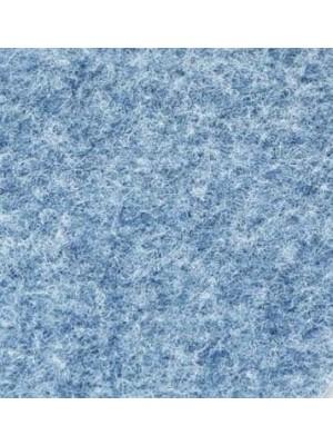 Profi Olymp Teppichboden für Messe und Events jeansblau mit Precoat-Rücken