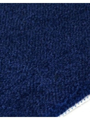 edelFORM Noblesse Teppichboden gut und günstig dunkelblau Kräuselvelours