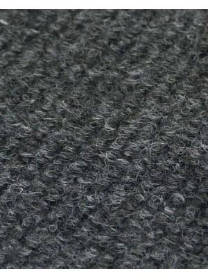 Profi Rips Teppichboden für Messen und Events mit Latex-Rücken anthrazit meliert 100 % Polypropylen, 3 mm Stärke, Rollenbreite 2 m, Rollenlänge 50 m Messeteppich schnell und günstig, Farbcode: 4800