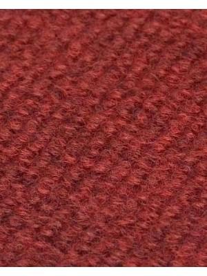 Profi Rips Teppichboden für Messen und Events mit Latex-Rücken dunkelrot meliert 100 % Polypropylen, 3 mm Stärke, Rollenbreite 2 m, Rollenlänge 50 m Messeteppich schnell und günstig, Farbcode: 4802