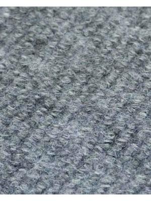 Profi Rips Teppichboden für Messen und Events mit Latex-Rücken grau meliert 100 % Polypropylen, 3 mm Stärke, Rollenbreite 2 m, Rollenlänge 50 m Messeteppich schnell und günstig, Farbcode: 4820
