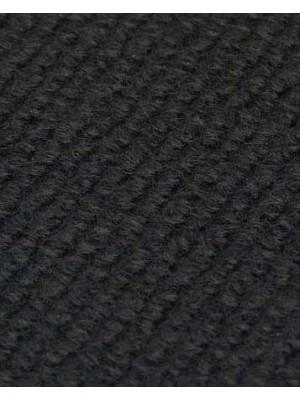 Profi Rips Teppichboden für Messen und Events mit Latex-Rücken schwarz 100 % Polypropylen, 3 mm Stärke, Rollenbreite 2 m, Rollenlänge 50 m Messeteppich schnell und günstig, Farbcode: 4822