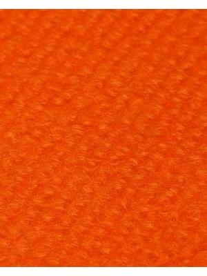 Profi Rips Teppichboden für Messen und Events mit Latex-Rücken orange 100 % Polypropylen, 3 mm Stärke, Rollenbreite 2 m, Rollenlänge 50 m Messeteppich schnell und günstig, Farbcode: 4833