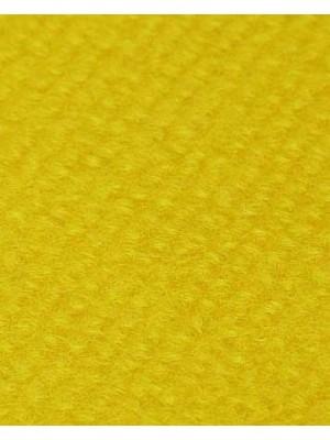 Profi Rips Teppichboden für Messen und Events mit Latex-Rücken gelb 100 % Polypropylen, 3 mm Stärke, Rollenbreite 2 m, Rollenlänge 50 m Messeteppich schnell und günstig, Farbcode: 4835